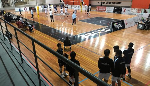 Vitória SC vence em Matosinhos