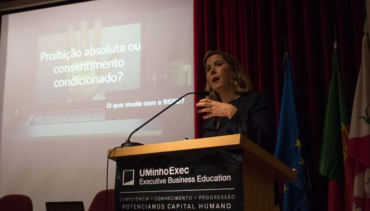 """Filipa Magalhães ironiza: """"Esta questão da RGPD é tão nova como a Constituição"""""""