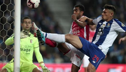 SC Braga ineficaz perde no Dragão