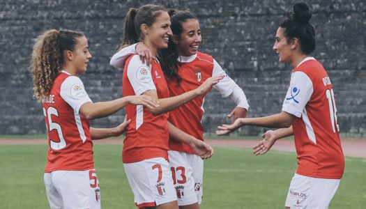 Futebol feminino. Final antecipada nos 'oitavos' da Taça de Portugal