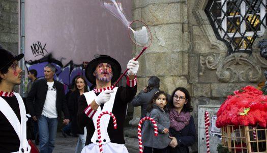 As cores do Natal sobre Braga [fotogaleria]
