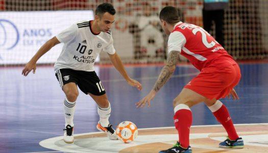 SC Braga/AAUM sofre goleada frente ao SL Benfica