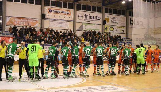 Juventude de Viana perde frente ao Sporting CP