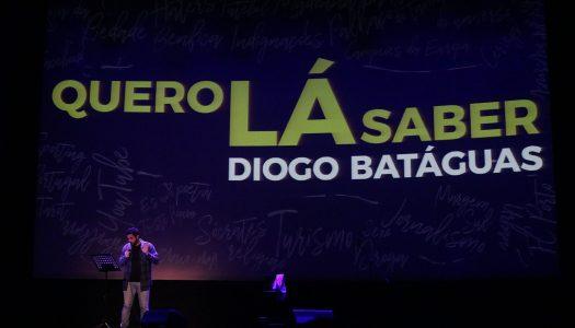 Diogo Batáguas. Falir foi motivo para rir