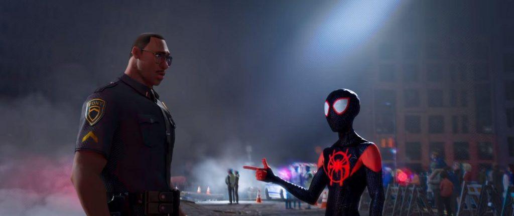 homem aranha no universo aranha 2