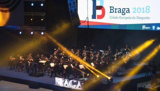 Cidade Europeia do Desporto. Braga passa testemunho a Portimão