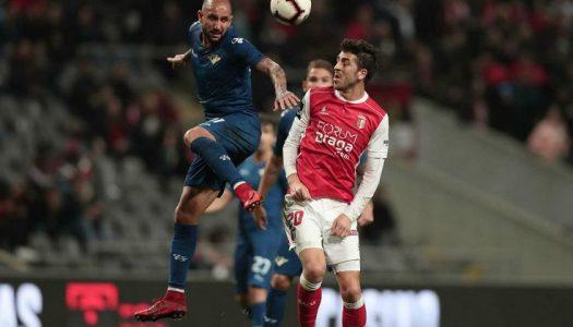 SC Braga sua mas vence dérbi minhoto
