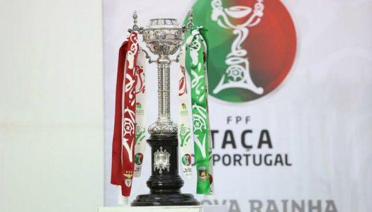 Taça de Portugal. SC Braga e Vitória SC conhecem adversários