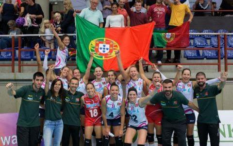 Atletas do AVC Famalicão na convocatória da seleção nacional de voleibol
