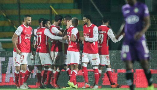 SC Braga carimba passagem aos 'quartos' no Bonfim