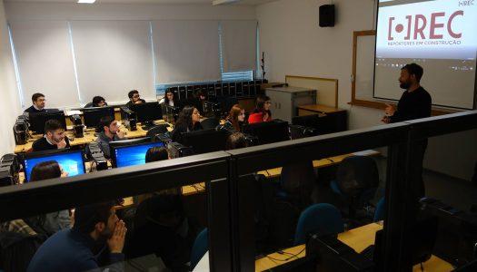 Projeto RECria formação de jornalistas