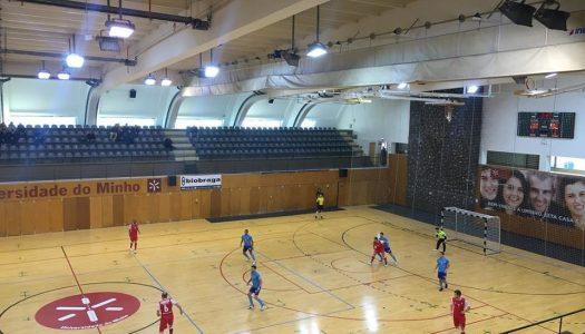 SC Braga/AAUM empata pela terceira vez na Liga SportZone