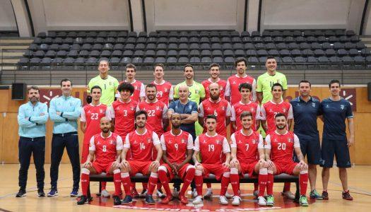 Atletas do SC Braga/AAUM na convocatória de Jorge Braz