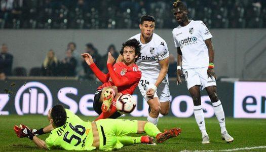 Vitória SC perde com SL Benfica e é eliminado da Taça