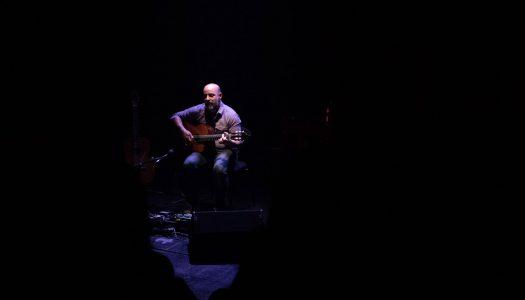 Guitarra, alforreca e tempestade no Funchal