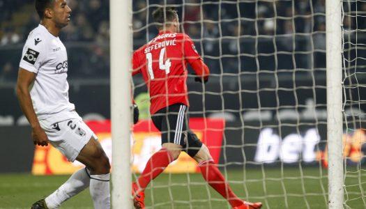 Vitória SC volta a perder em casa perante SL Benfica