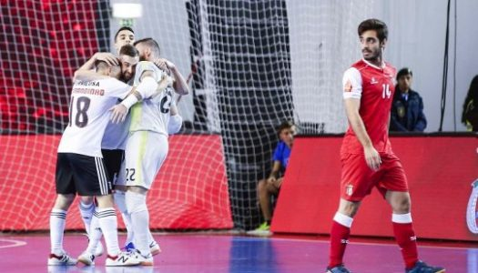 SC Braga/AAUM perde final da Taça da Liga