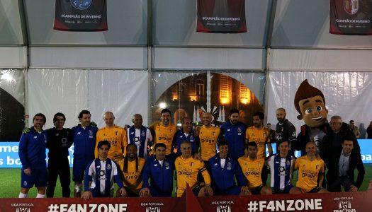 SC Braga vence Jogo das Glórias no penúltimo dia da Fan Zone