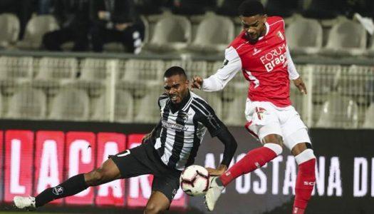 SC Braga empata em Portimão depois de estar em desvantagem