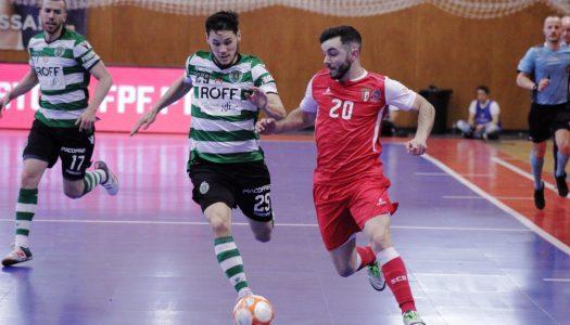 SC Braga/AAUM perde em casa contra Sporting CP