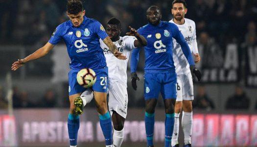 Vitória SC empata sem golos com FC Porto