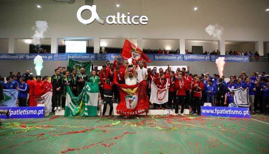 SC Braga fora do pódio no Nacional de Pista Coberta
