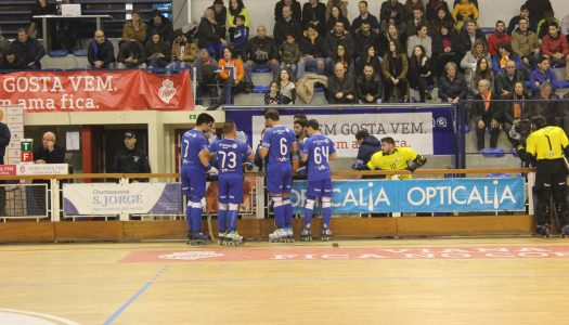 HC Braga sofre derrota frente à UD Oliveirense