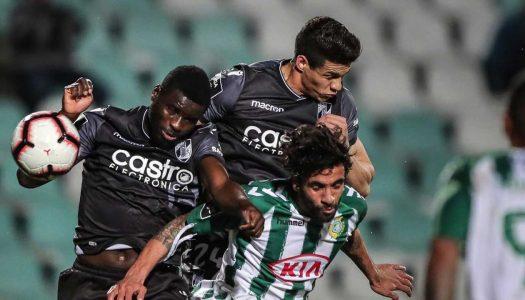 Vitória SC empata em Setúbal
