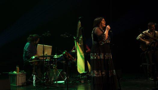 Uxía canta pela amizade de Portugal-Galiza