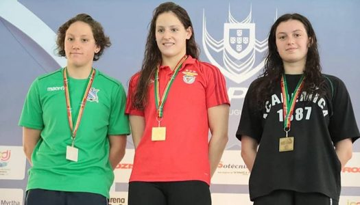 Natação.Diana Durães bate recorde nacional dos 5.000 metros