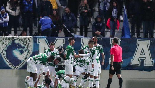 Moreirense empata contra FC Porto