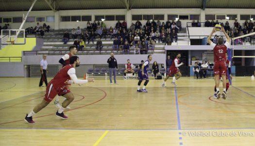 VC Viana perde em casa frente ao SC Caldas