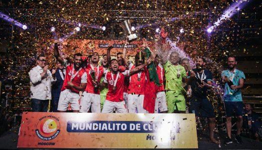 SC Braga vence Mundialito de clubes de futebol de praia