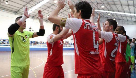 SC Braga/AAUM perde e afasta-se do terceiro lugar