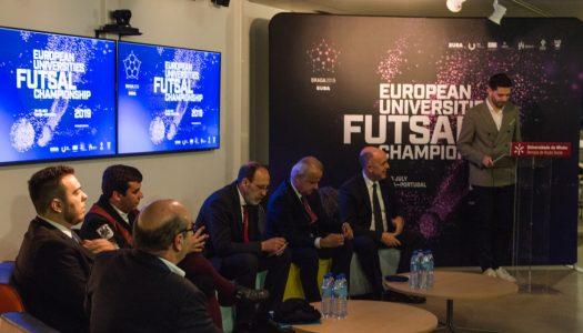 Expectativas altas para o Europeu Universitário de Futsal