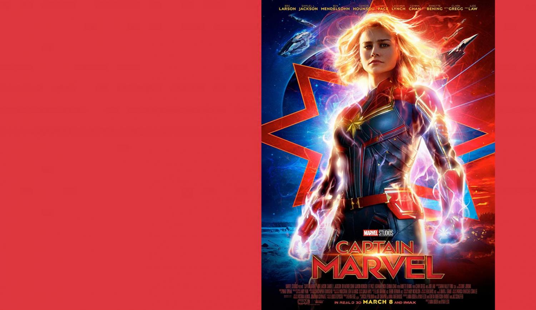 capitão marvel, 2019