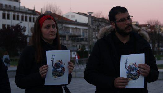Homenagem a Marielle em Braga. Organização queixa-se de pouca adesão