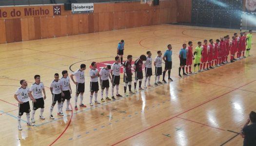 Taça de Portugal. SC Braga/AAUM perde contra SL Benfica