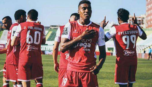 SC Braga vence e volta a isolar-se no terceiro lugar
