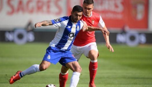 SC Braga sofre derrota caseira frente ao FC Porto