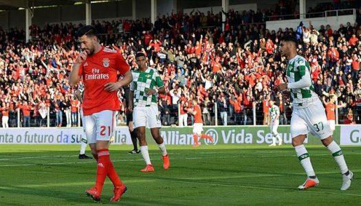 Moreirense goleado em casa pelo SL Benfica