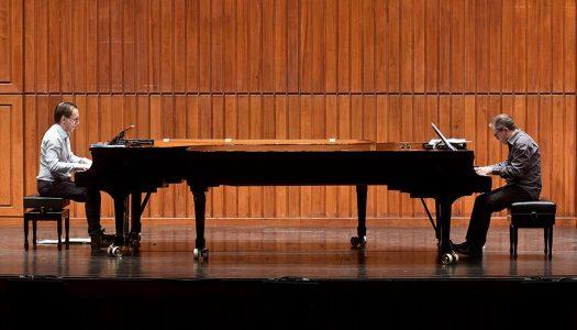 Concerto de Mário Laginha e Pedro Burmester encerra Semana do Piano