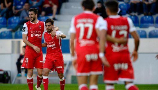 SC Braga vence Feirense