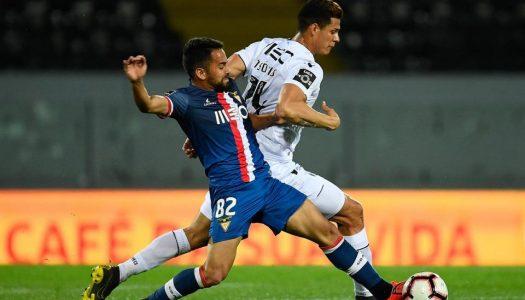 Vitória SC volta a perder terreno na luta pelo quinto lugar