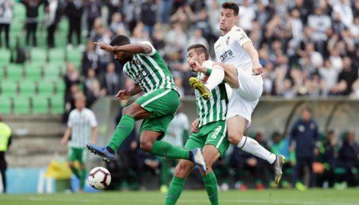 Vitória SC deixa três pontos em Vila do Conde