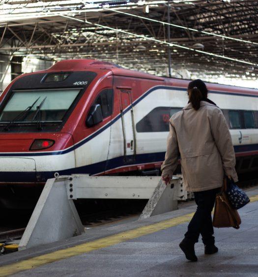 Braga, estação, cp, comboios