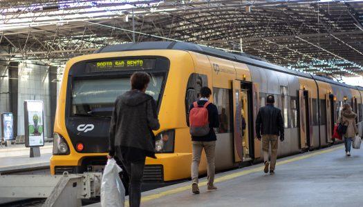 Viana recebe o primeiro comboio elétrico