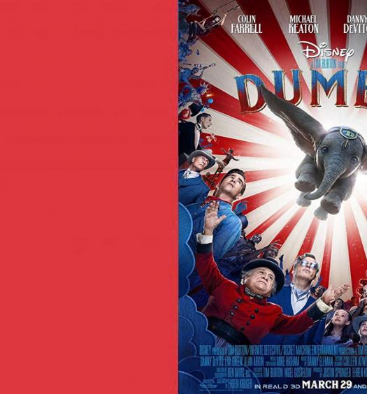 dumbo, disney remake, 2019