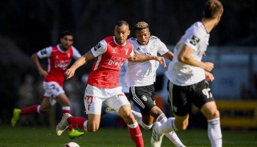 SC Braga sofre reviravolta e perde com SL Benfica