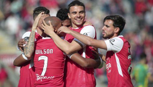 SC Braga vence e continua perseguição ao terceiro lugar